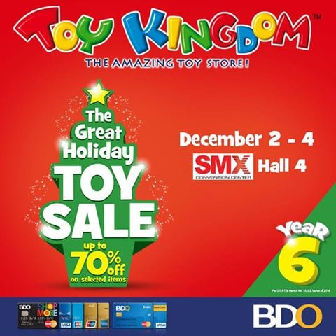Toy Kingdom Great Holiday Toy Warehouse Sale
