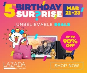 Lazada Birthday deals: Nido and MamyPoko Deals