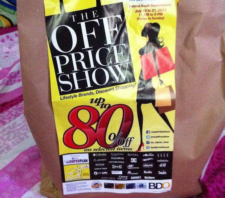 Experience in OFF Price Show