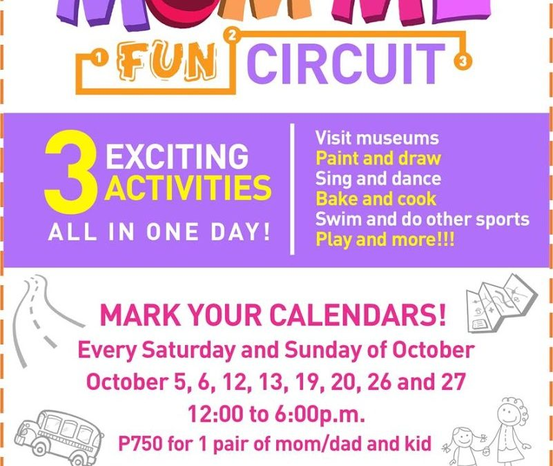 Mom and Me fun Circuit Win a Free tickets
