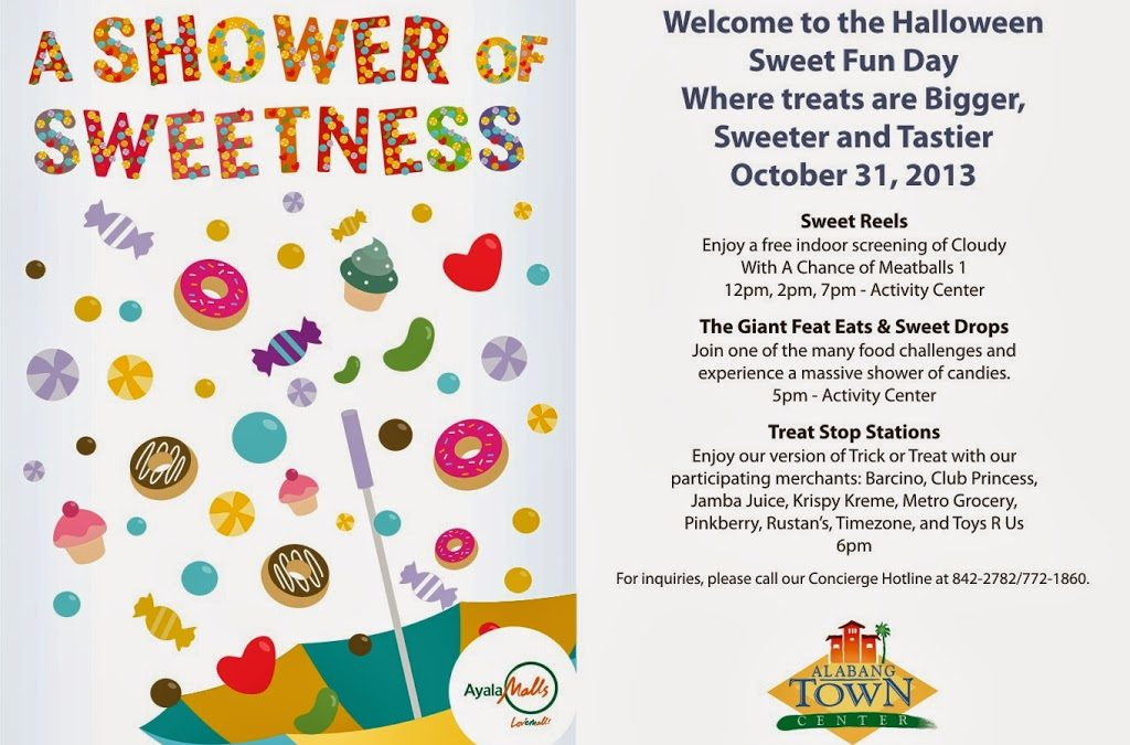 A Shower of Sweetness Holloween Celebration  at Alabang Town Center
