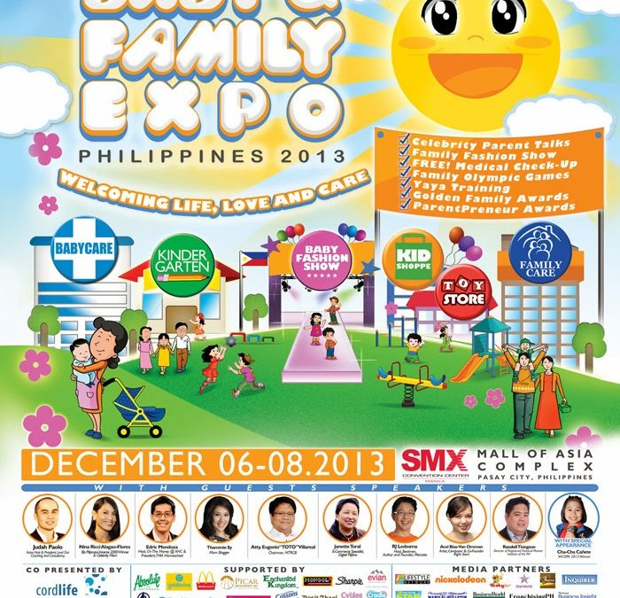 Kids to Decorate Cake with Goldilocks at Baby & Family Expo 2013