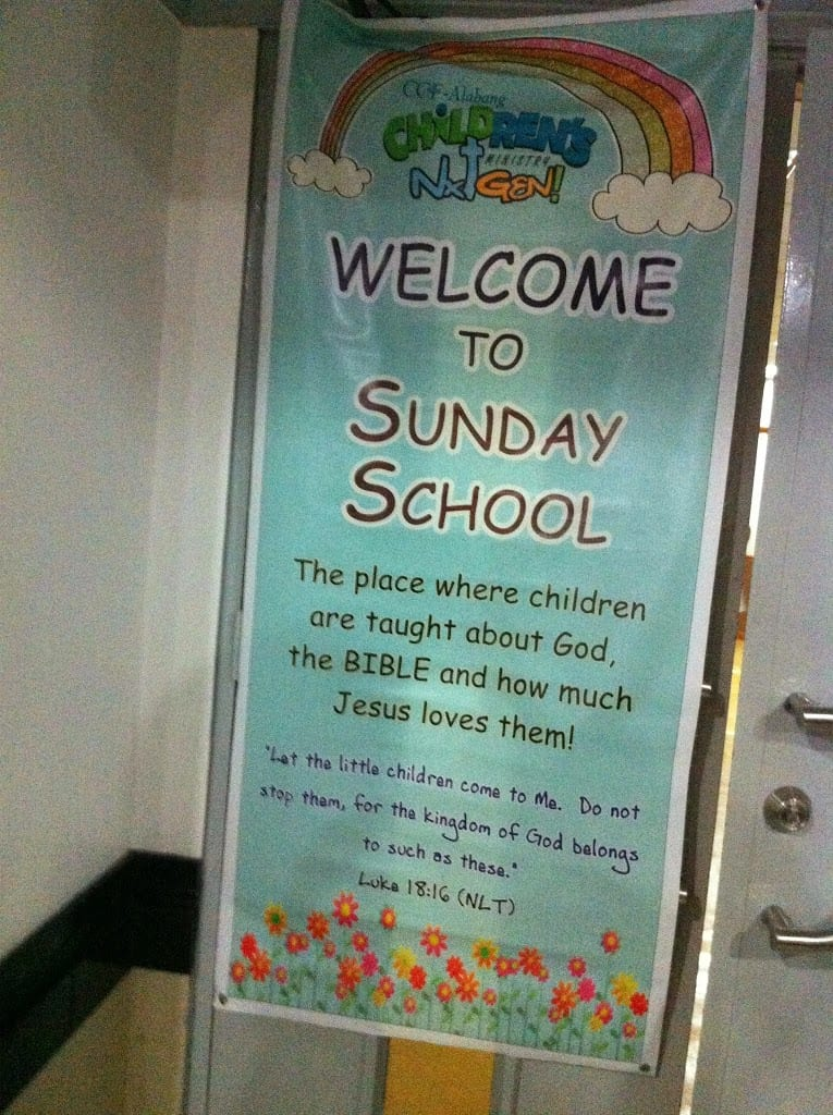 Little Kulit @ Sunday School