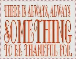 Things to be thankful in 2013