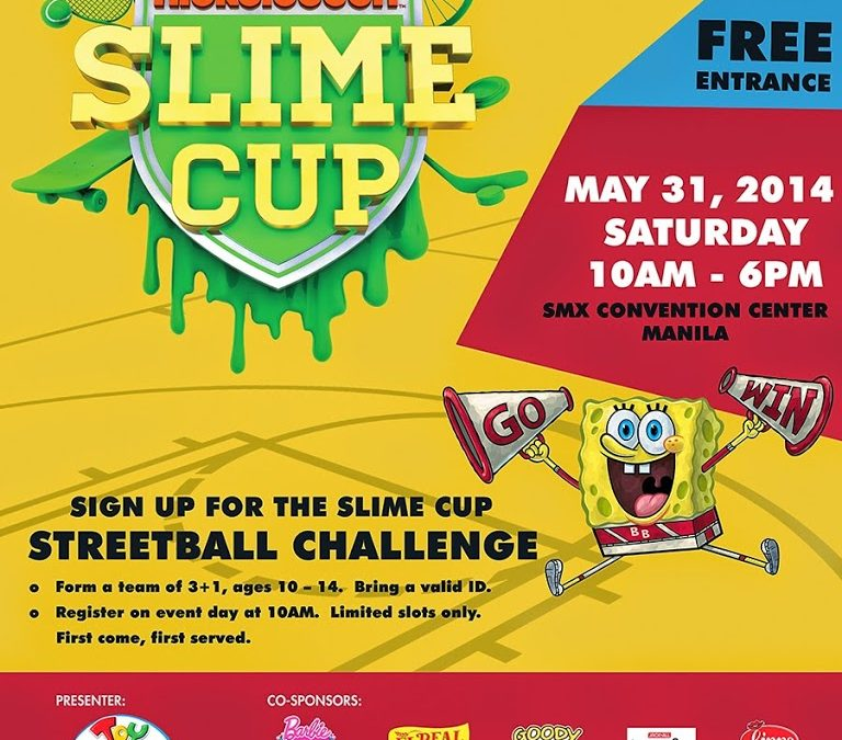 Nickelodeon Slime Cup in the Philippines