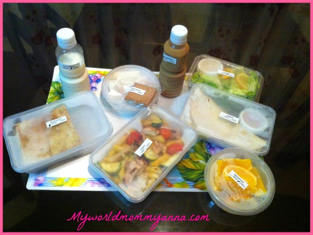Mommy Anna Experience The GoodBox PH Meals