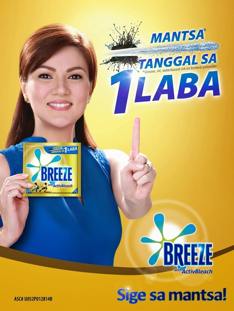 Breeze ActivBleach calls Moms to join 1Laba Day