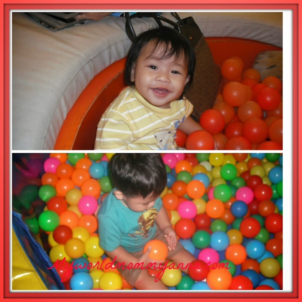 My Little Kulit Loves to Play Ball