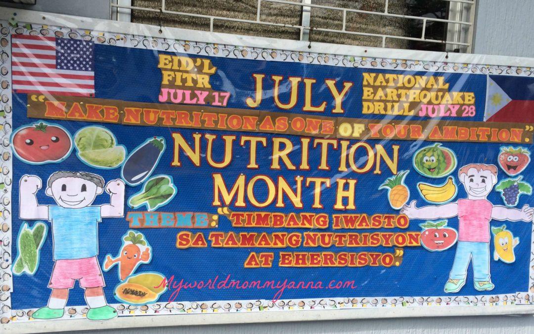 Little Kulit Nutrition Month