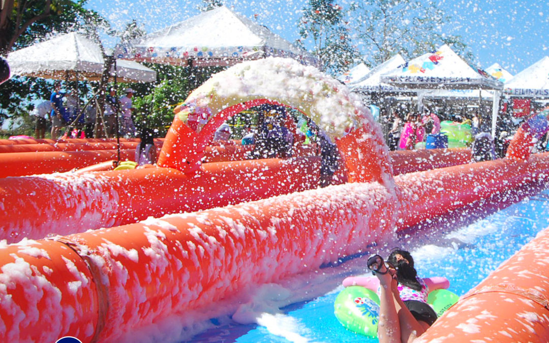 The Country's Biggest Slip and Slide Event Just Got Bigger #NIVEASlidefest