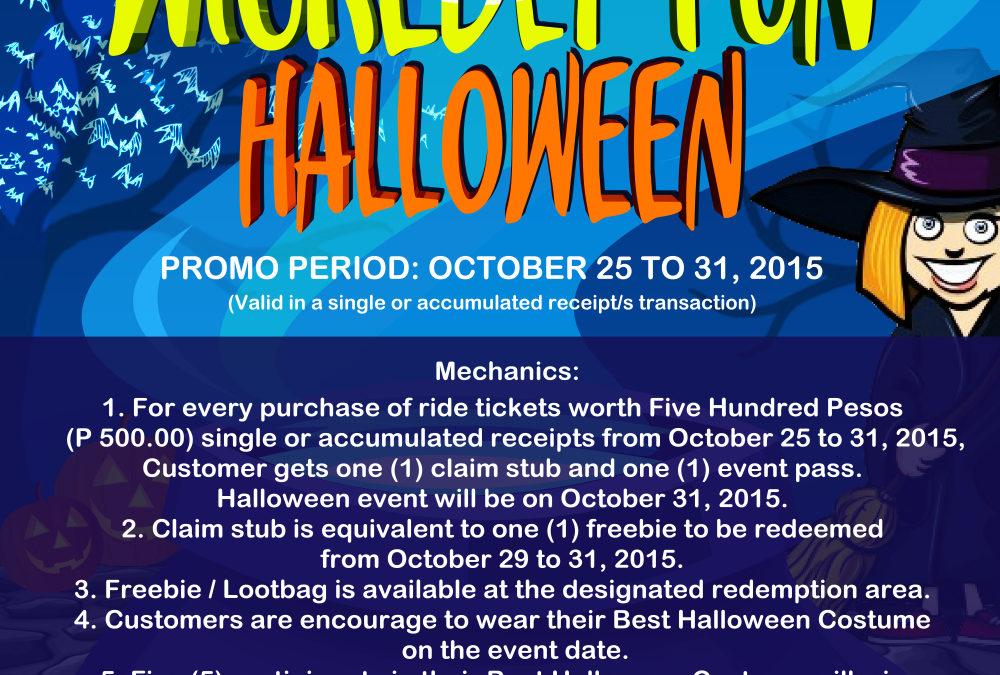 Wickedly Fun Halloween at Sky RanchTagaytay