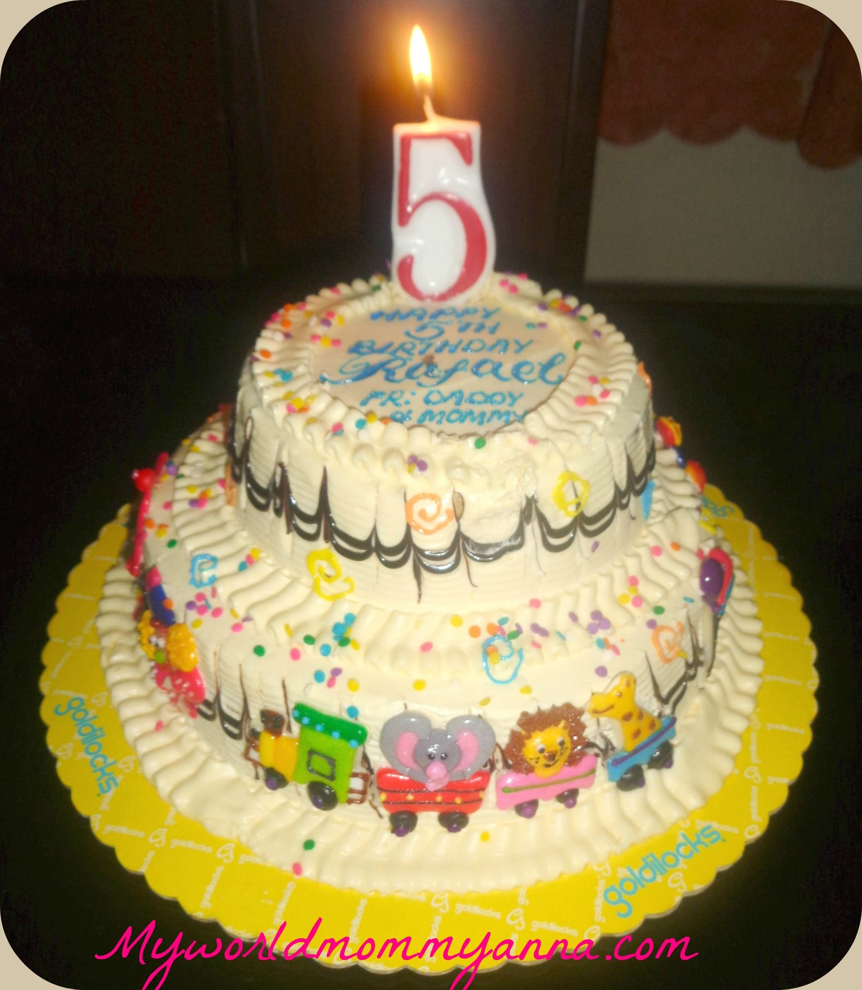 Little Kulit Cake: Goldilocks Carnival Themed Cake - My ...