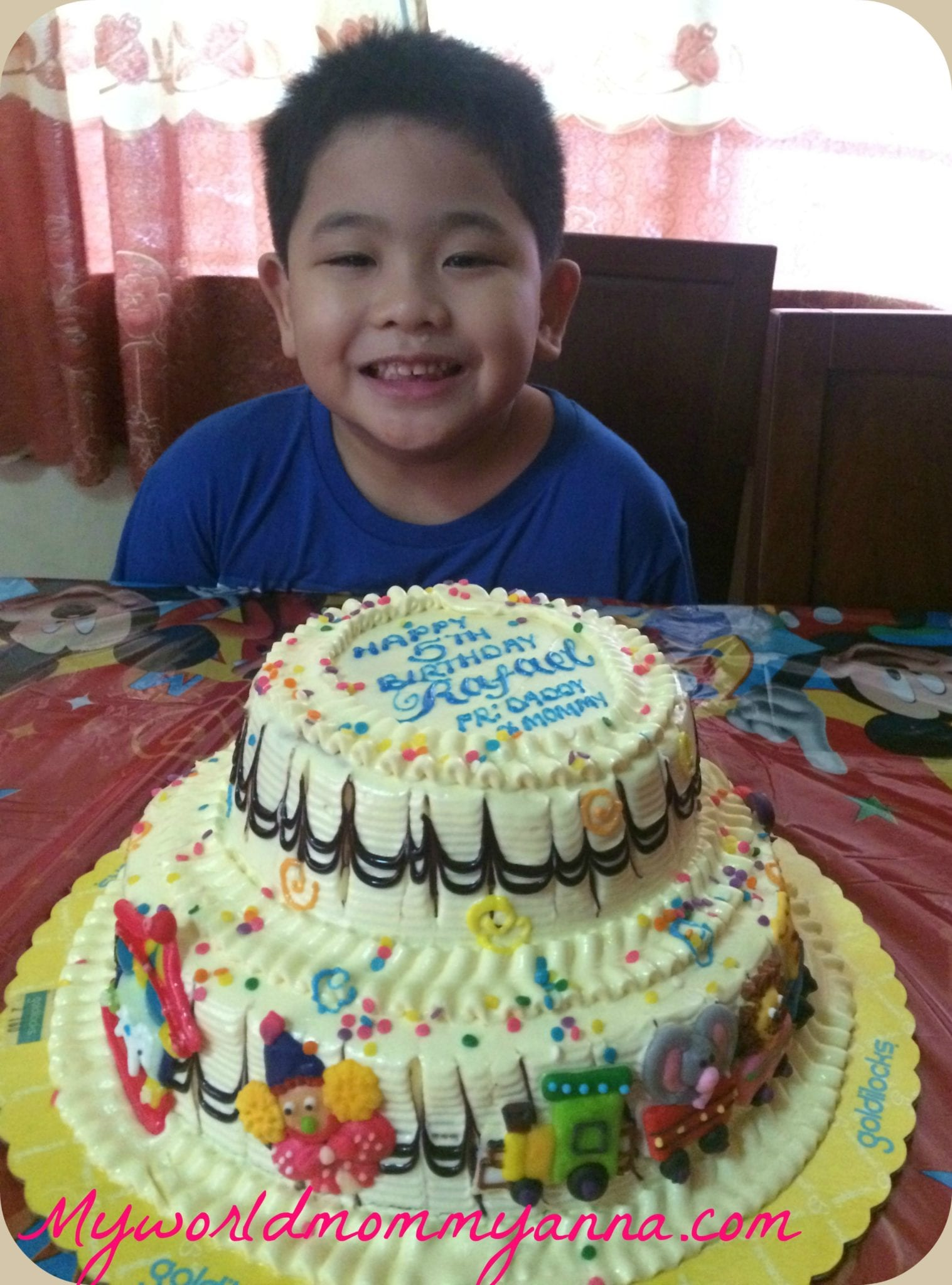Little Kulit Cake Goldilocks Carnival Themed Cake My World Mommy Anna
