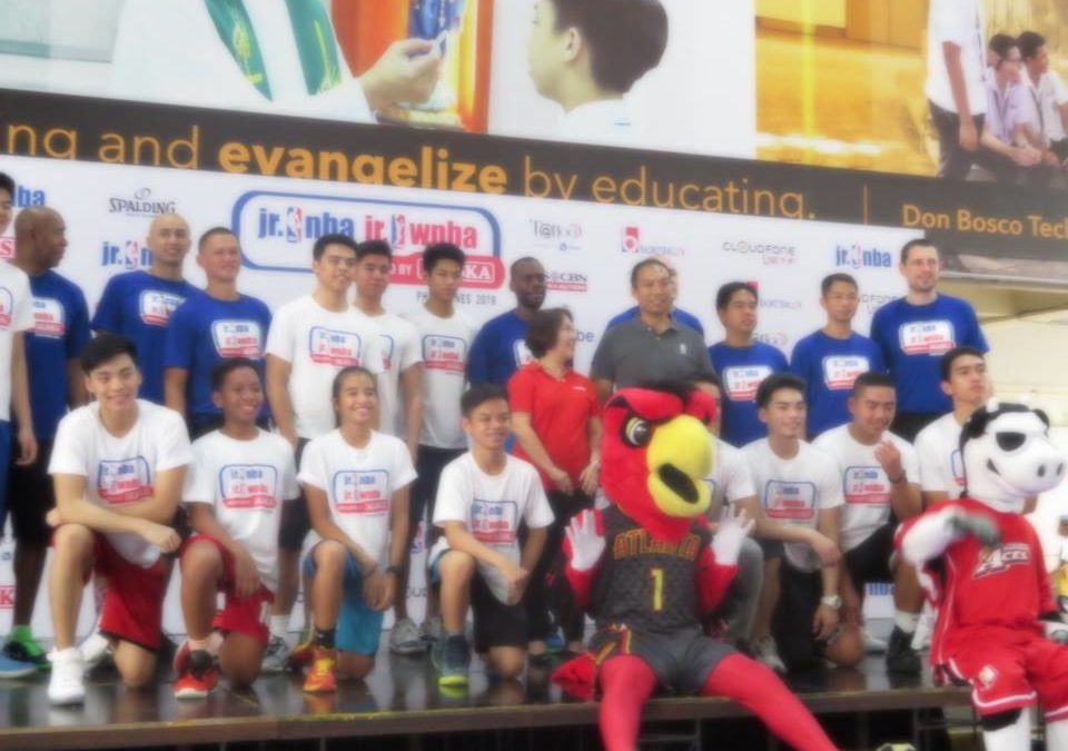 JR. NBA/JR.WNBA PHILIPPINES 2016 PRESENTED BY ALASKA TO ENCOURAGE YOUTH BASKETBALL PARTICIPATION