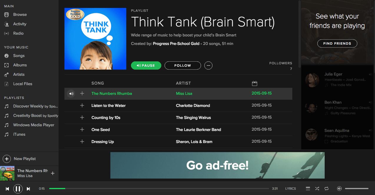 Playlist_Think Tank