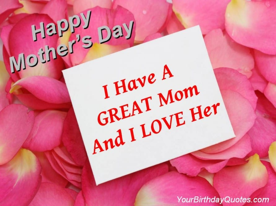 Happy Mother's Day  Mother's Love