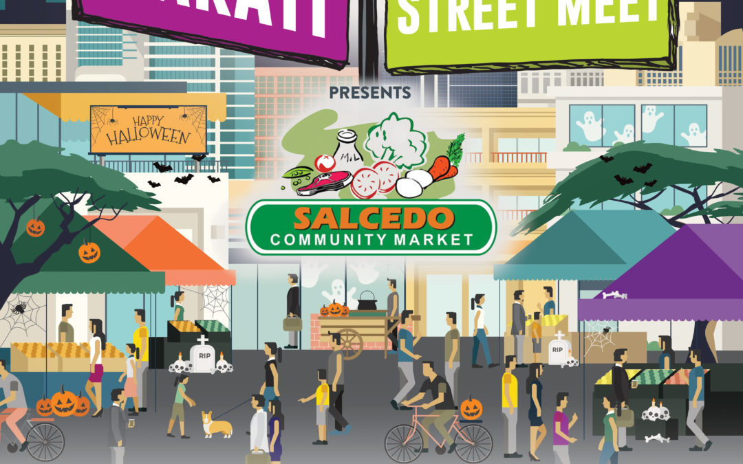 Trick or Treat? Makati closes off Paseo de Roxas for another culinary Street Meet!