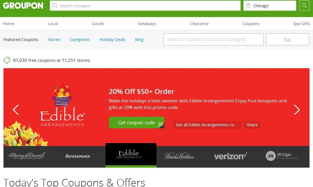Holiday Shopping with Groupon Coupons