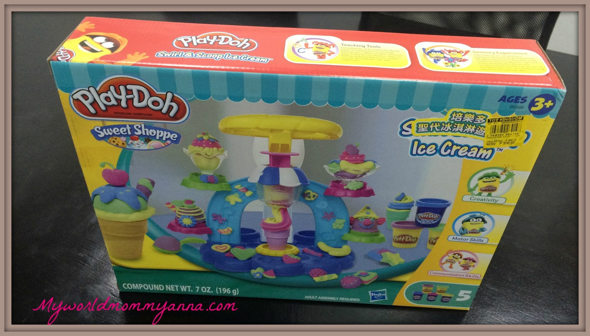 My world mommy anna mommy bloggers for Kitchen set toy kingdom