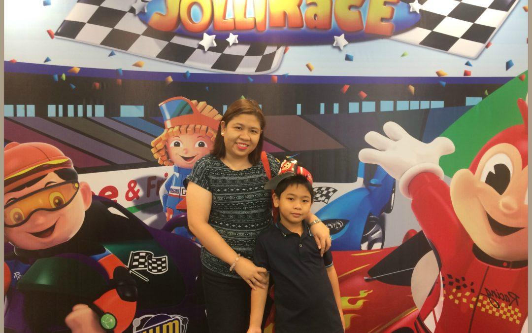 Jollibee Newest Party Theme: The Jollirace