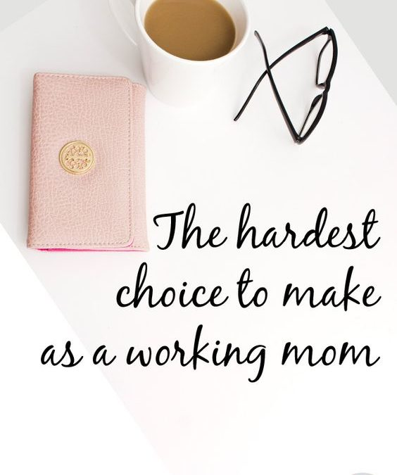 The Guilt feeling of a Working Mom