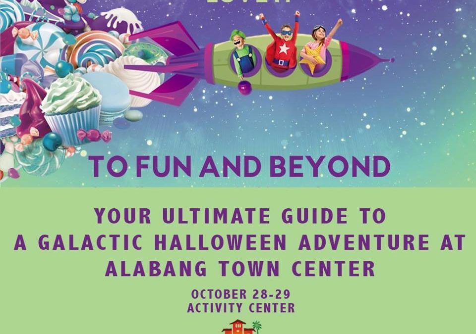 Cosmic Halloween at Alabang Town Center