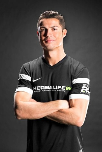 HERBALIFE NUTRITION-SPONSORED ATHLETE CRISTIANO RONALDO NAMED BEST FIFA MEN'S PLAYER FOR SECOND CONSECUTIVE YEAR