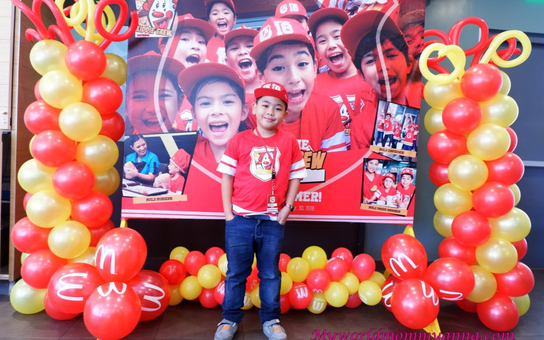 It's a Summer of Fun and Learning at McDonald's Kiddie Crew Workshop