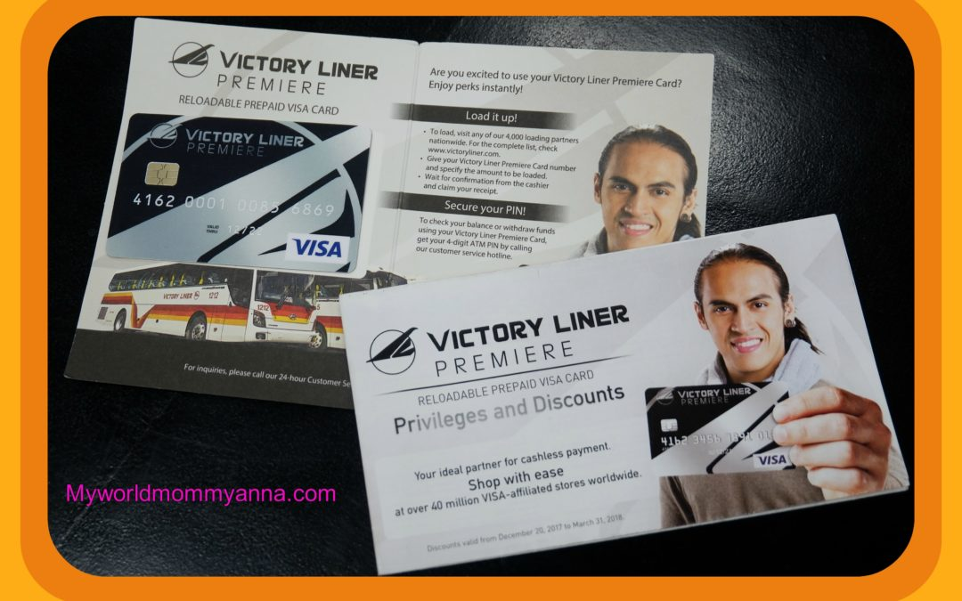 Mommy Anna Recommends: Victory Liner Premiere Card
