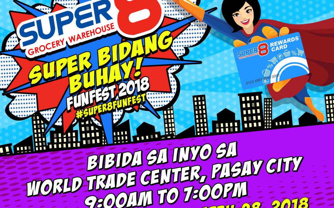 Super8 Grocery Warehouse brings Super Bidang Buhay Funfest 2018
