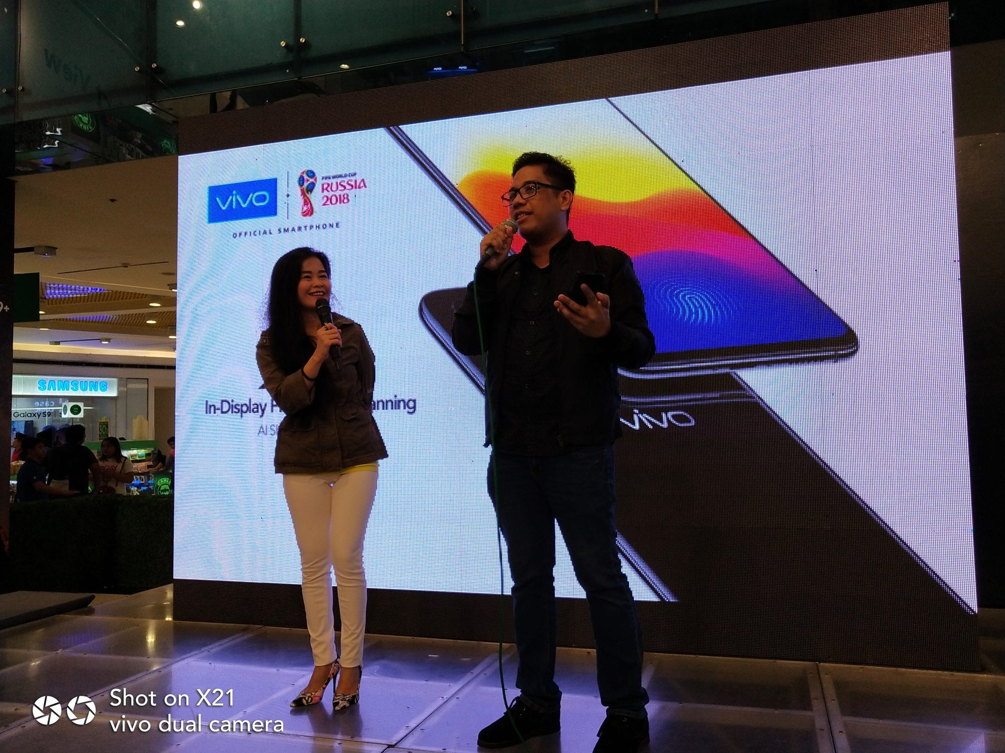 Vivo X21 is an eyecatcher at the Mobile Fest 2018 - My World Mommy Anna