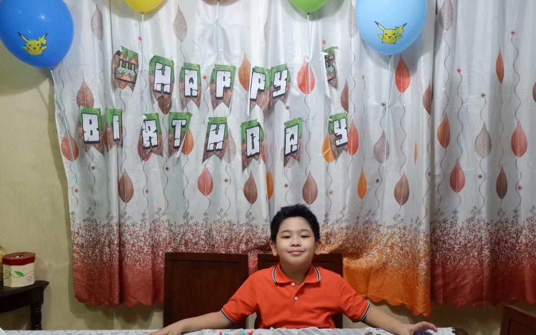 Rafael's 8th Birthday