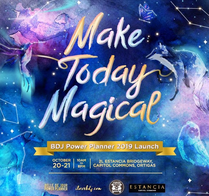 Make Today Magical: BDJ 2019  Launch Weekend