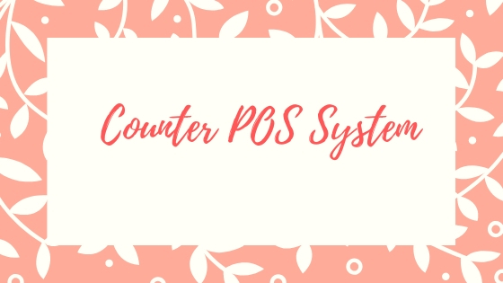 A countertop POS System that does not take up too much space