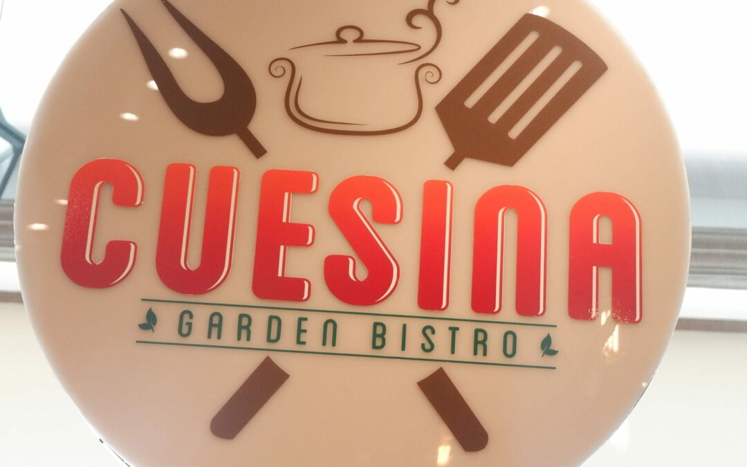 Lunch at Cuesina Garden Bistro