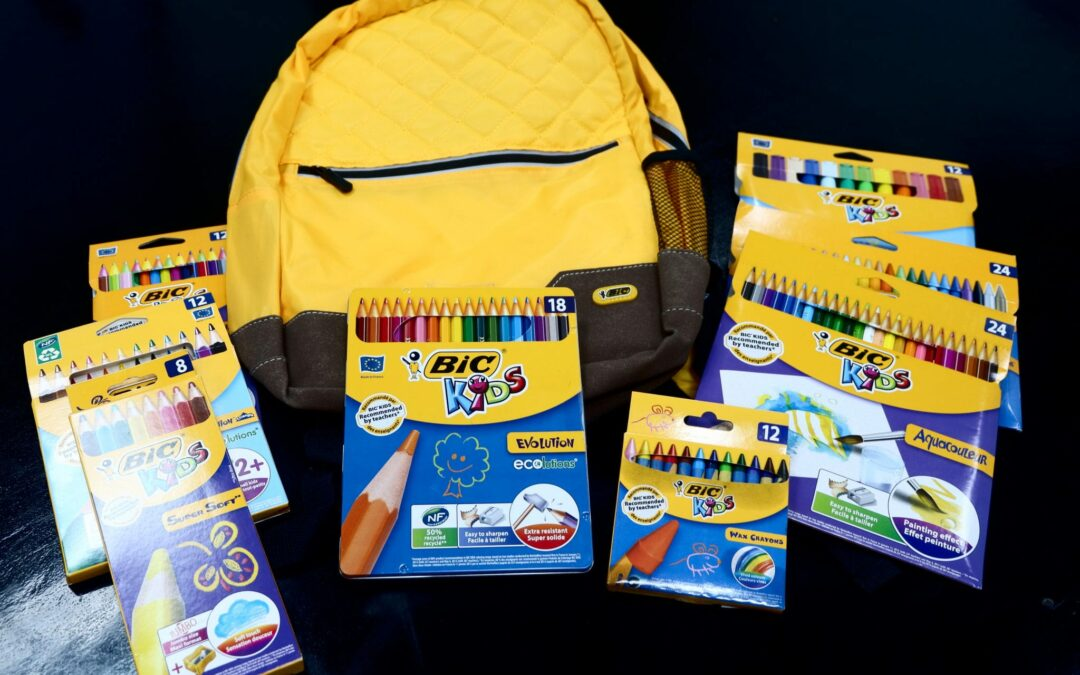 BIC launches a collection of coloring products designed especially for kids