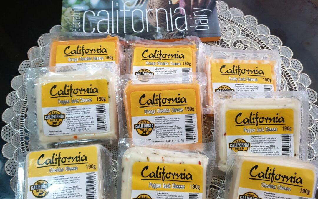 Real California Milk Cheese