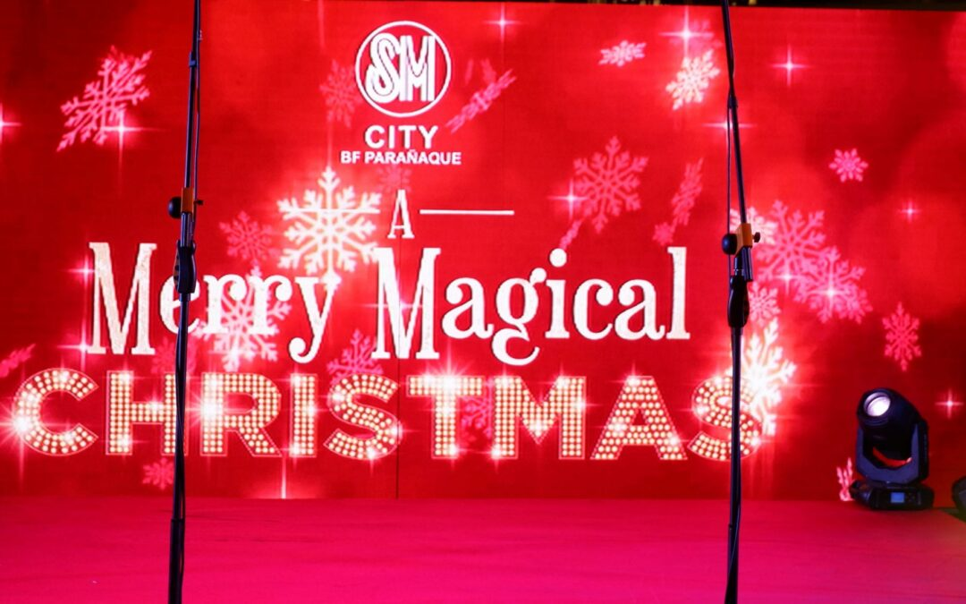 SM City BF Parañaque Celebrates A Merry Magical Christmas