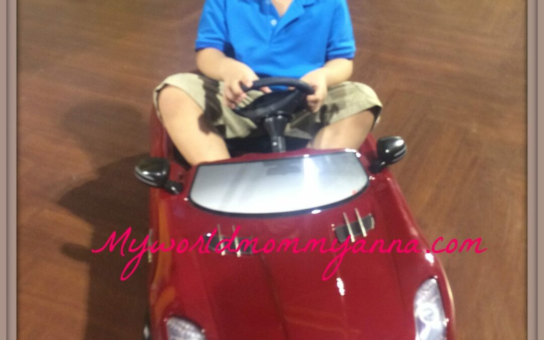Give your child the ride of his life by winning his first luxurious supercar