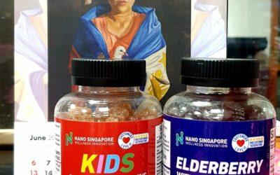 Review: Nano's Singapore Elderberry Gummies and Kids Multivitamin Gummies