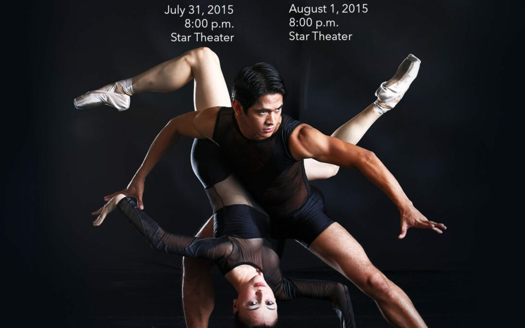 "Ballet Manila Presents ""Flight 1"" and ""Flight 2"" July 31 and August 1 at Star Theater"