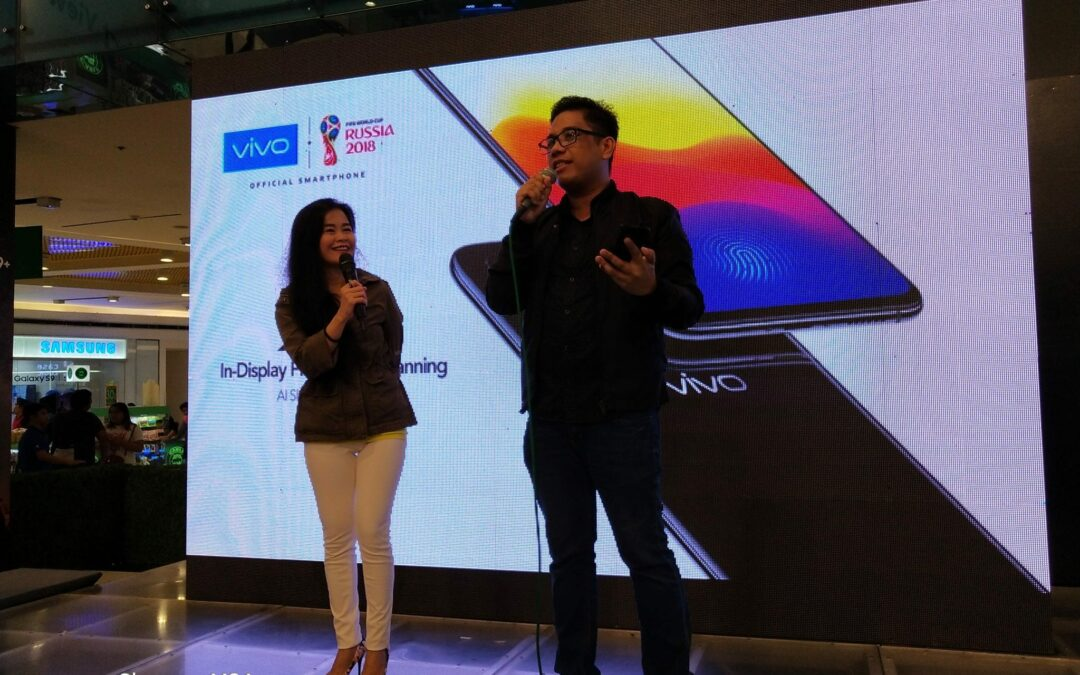 Vivo X21 is an eyecatcher at the Mobile Fest 2018
