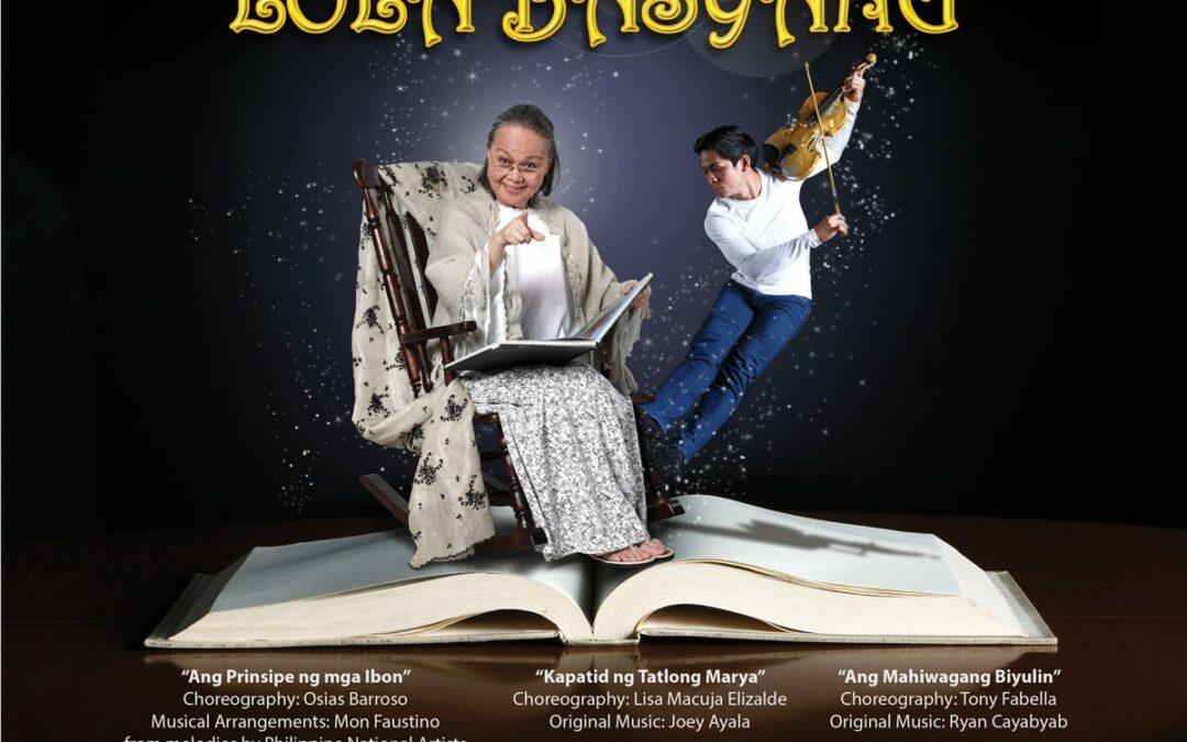"Ballet Manila Presents Severino Reyes' ""Tatlong Kuwento ni Lola Basyang, Aug. 21"