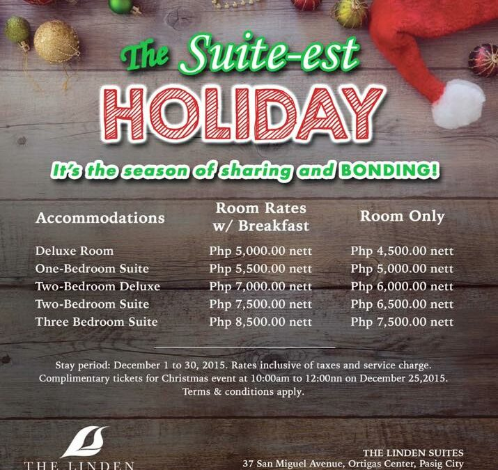 The Suite-est Holiday Treat